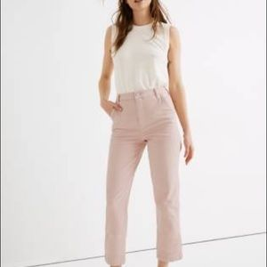 Madewell Classic Straight Pants